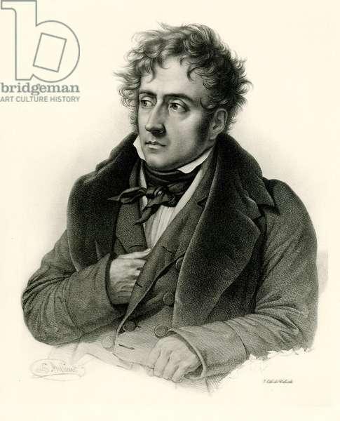 François René Vicomte de Châteaubriand, 1884-90 (phototype)