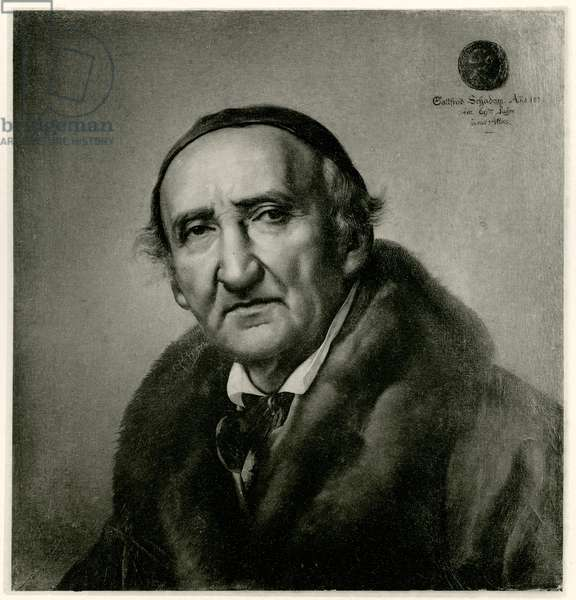Johann Gottfried Schadow, 1884-90 (phototype)