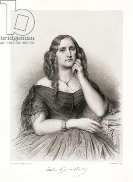Delphine de Girardin, 1865-66 (litho)