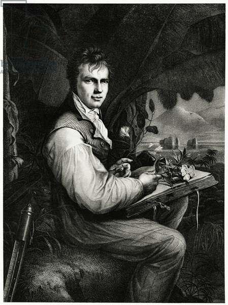 Alexander von Humboldt, 1884-90 (phototype)