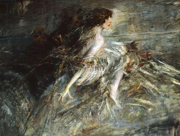 Portrait of Marchesa Casati (oil on canvas)