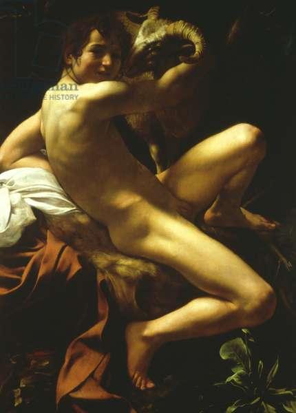 St John the Baptist, 1602 (oil on canvas)