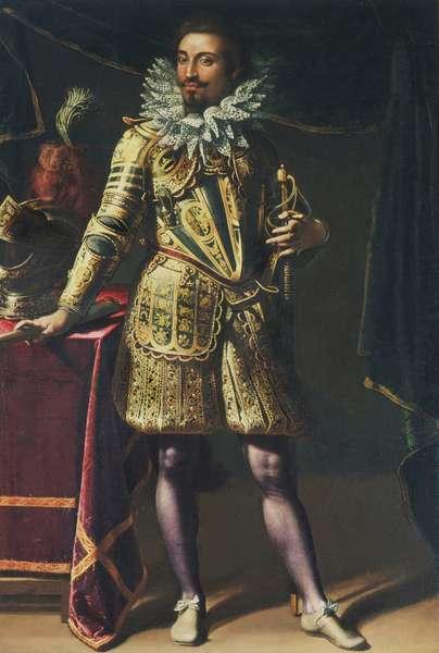 Portrait of Prince Michele Peretti (oil on canvas)