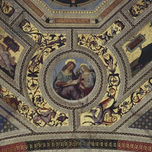 Vault of the Presbytery, Santa Maria del Popolo, Rome, c.1484-92 (fresco)