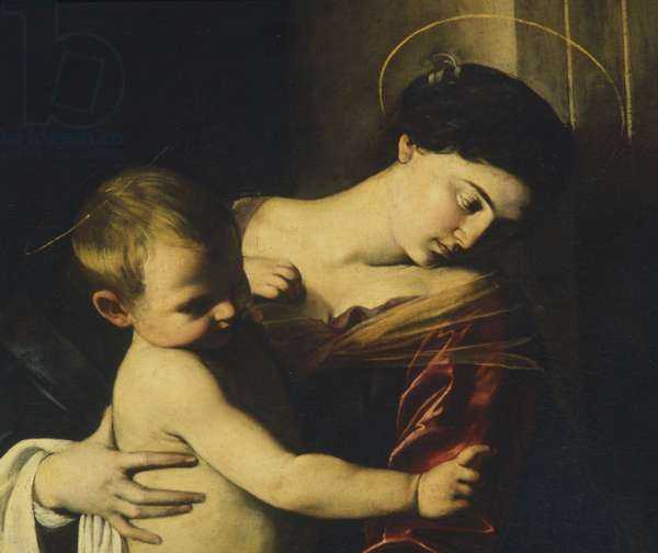 Detail from Madonna of Loreto, c.1606 (oil on canvas)