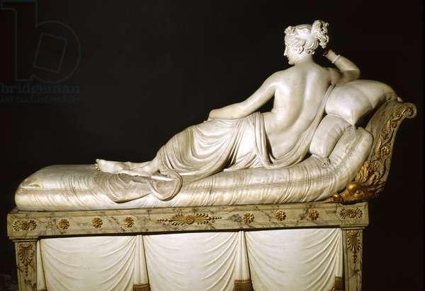 Pauline Bonaparte as Venus Triumphant, c.1805-08 (marble)