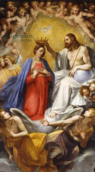 Coronation of the Virgin (oil on canvas)
