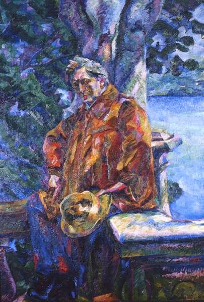 Portrait of Ferruccio Busoni, 1916 (oil on canvas)
