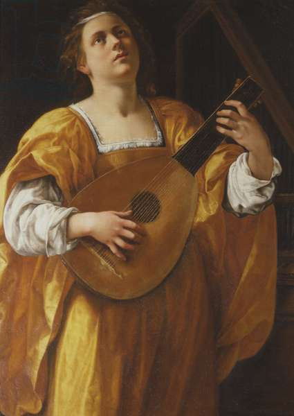 Saint Cecilia, 1620 (oil on canvas)