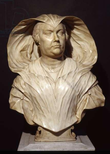 Bust of Donna Olimpia Maidalchini Pamphilj, 1646-47 (marble)