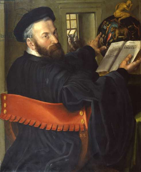 The Astrologer, 1550 (oil on canvas)