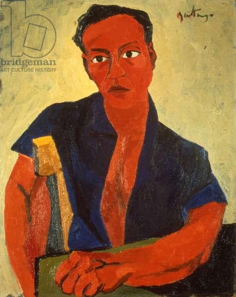 Self portrait, 1943 (oil on canvas)