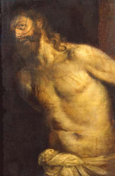 Christ Flagellated, c.1560 (oil on canvas)