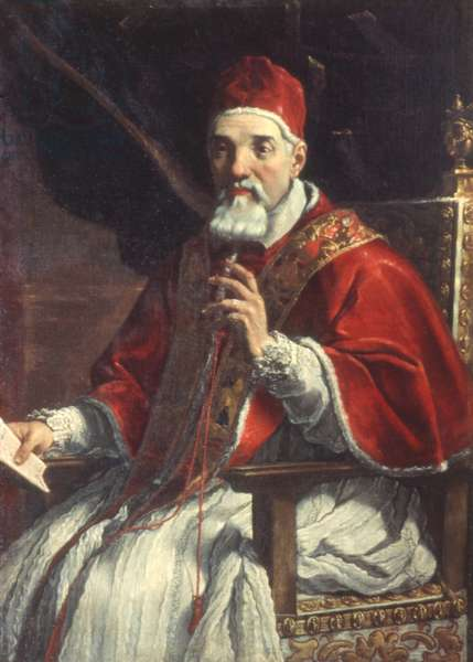 Pope Urban VIII (oil on canvas)