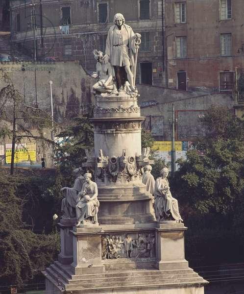 Monument to Christopher Columbus, Genoa (photo)