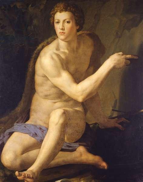 Saint John the Baptist, c.1555 (oil on wood)