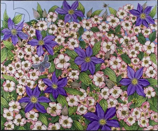 A Purple Patch, 2011 (acrylic on calico)