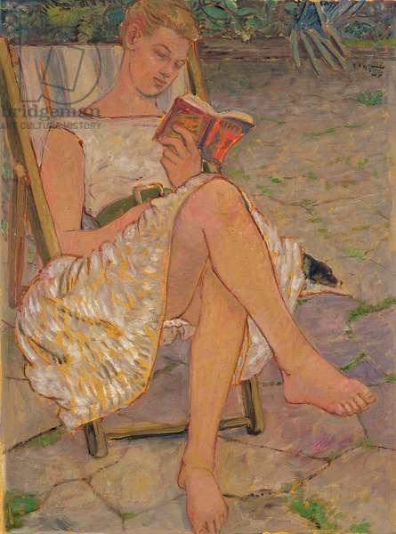 Bridget Reading, 1959 (oil on board)