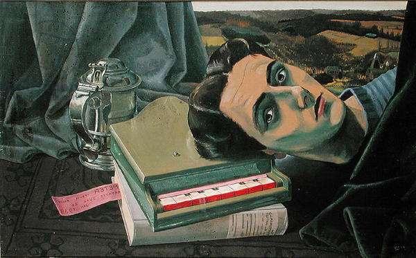 Self Portrait, Kent, 1939 (oil on board)