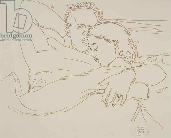 Tony Howard, 1952 (pen & ink)