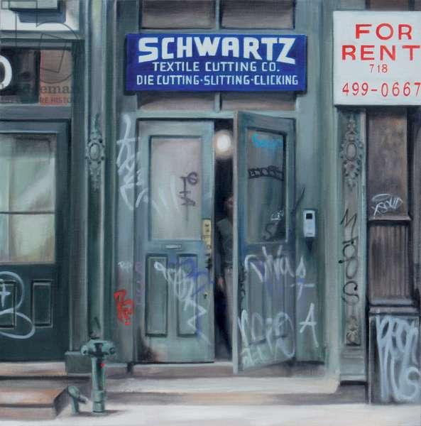 Schwartz, Soho, 2007 (oil on calico)