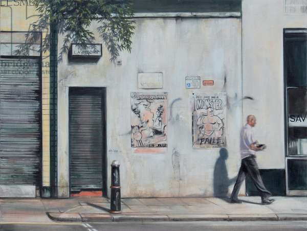Lindsey Street, Smithfield, 2007 (oil on calico)