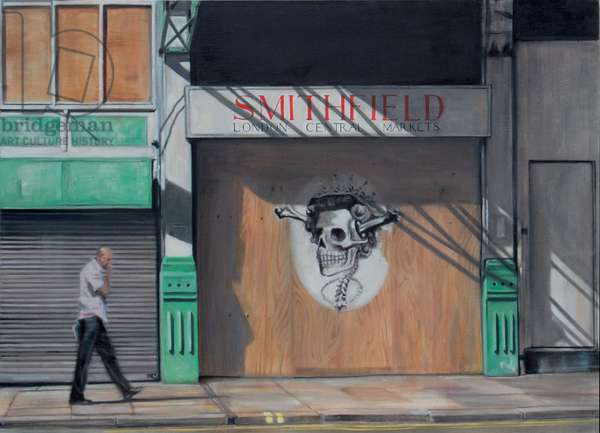 Smithfield Central Markets, 2007, (oil on calico)