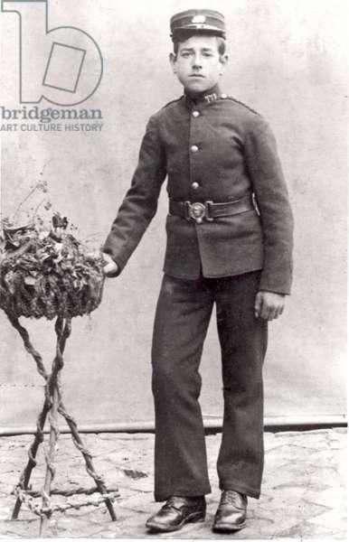 Messenger Boy, 1899 (b/w photo)