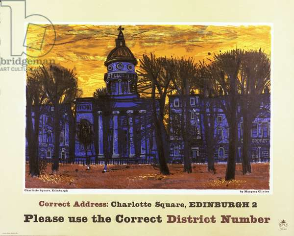 Please use the correct district number, 1961 (colour litho)