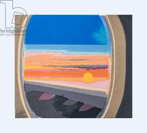 Air Travel, 2008 (screen print)