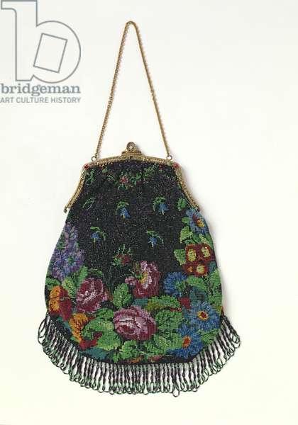 Edwardian bead handbag