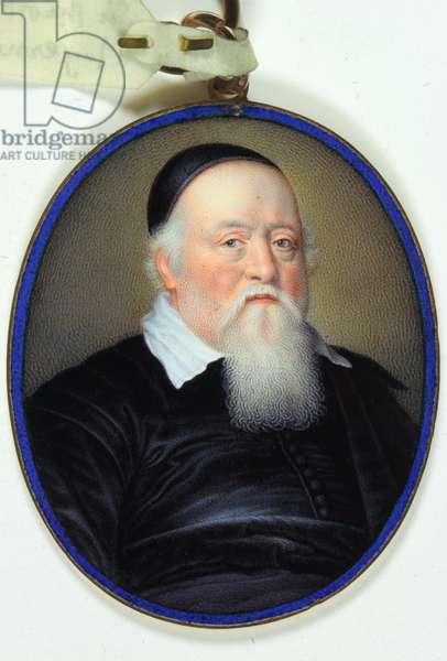 Sir Theodore Turquet de Mayerne (enamel)
