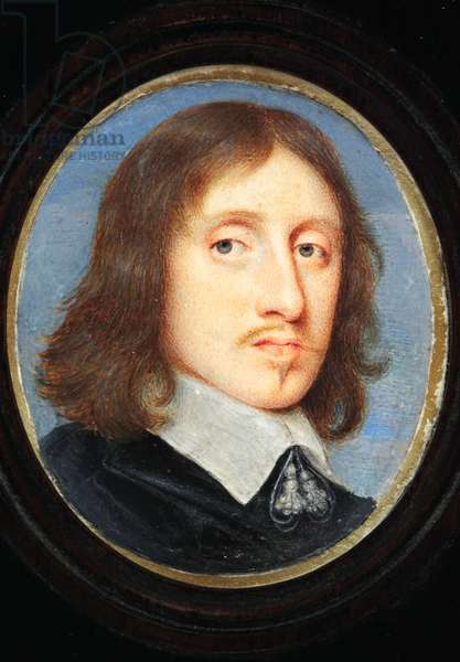 Sir Henry Vane The Younger (w/c on vellum)