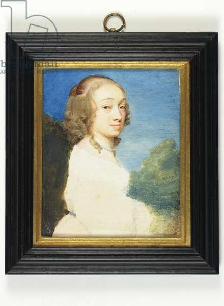 Christiana Turner, wife of Samuel Cooper (w/c on vellum)