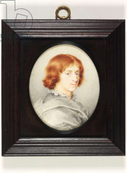 A young Gentleman traditionally identified as Isaac Oliver the Younger, the Painter's Son (w/c on vellum)