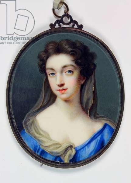 Lady Catherine Cavendish, Countess of Thanet (enamel)