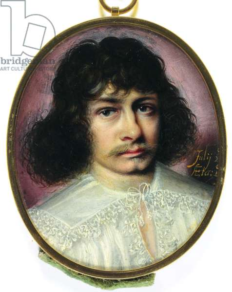 A Spaniard in lace edged shirt (enamel)