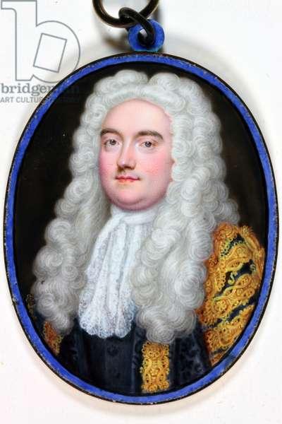 John Verney Master Of The Rolls, 1739 (enamel)