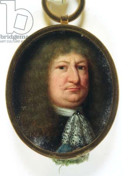 Frederick William, Elector of Brandenburg (enamel)