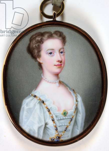 Lady Margaret Cavendish Holles Harley (enamel)