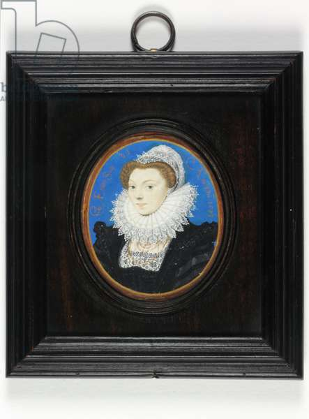 A lady traditionally identified as Mary Queen of Scots, 1573 (w/c & bodycolour on vellum)