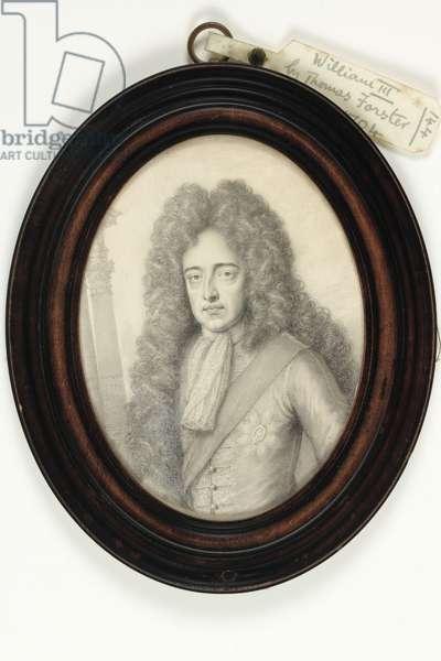 William III, 1704 (plumbago on vellum)