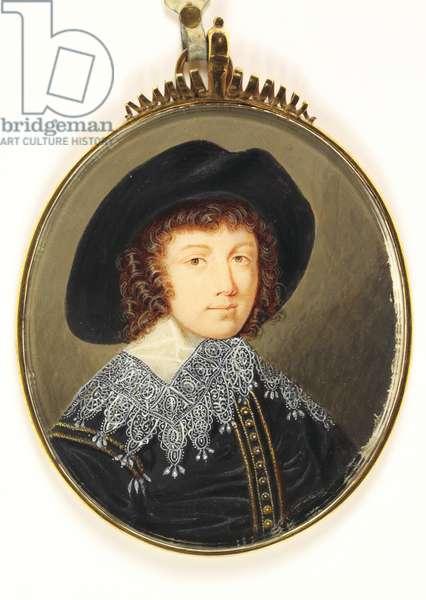 Prince Rupert (w/c on vellum)