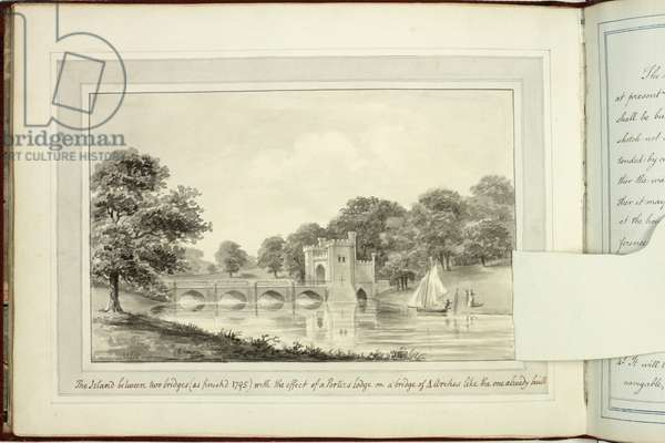 Red Book: Welbeck, 1793 (pen & ink and w/c on paper)
