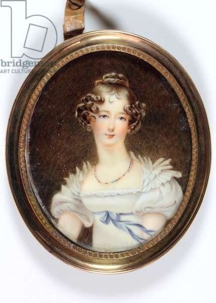 Lady Charlotte Cavendish Bentinck (enamel)