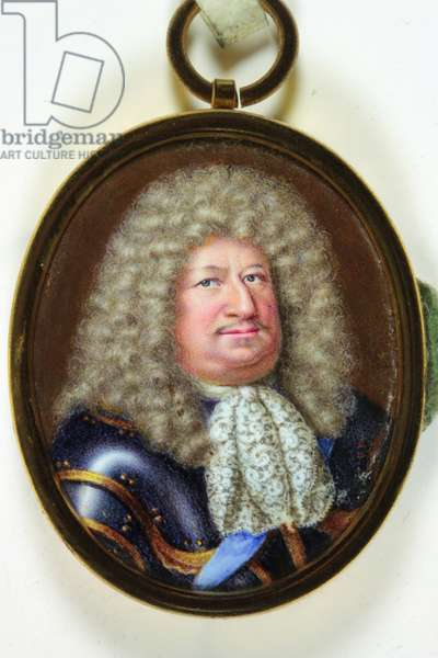 Frederick William, Elector of Brandenburg, 1686 (enamel)