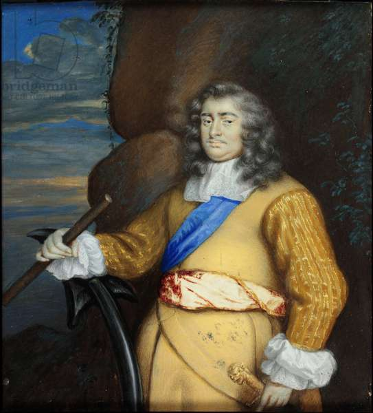 George Monck, 1st Duke of Albemarle (w/c on vellum)
