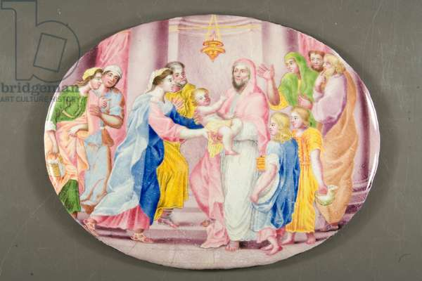 The Presentation in the Temple (enamel)
