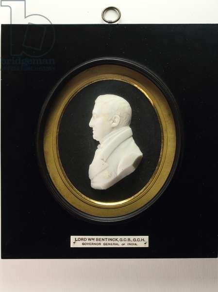 Lord William Bentinck (vitreous paste)