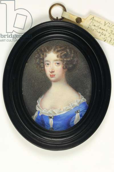 Anne Villiers, Madame Bentinck (w/c on ivory)